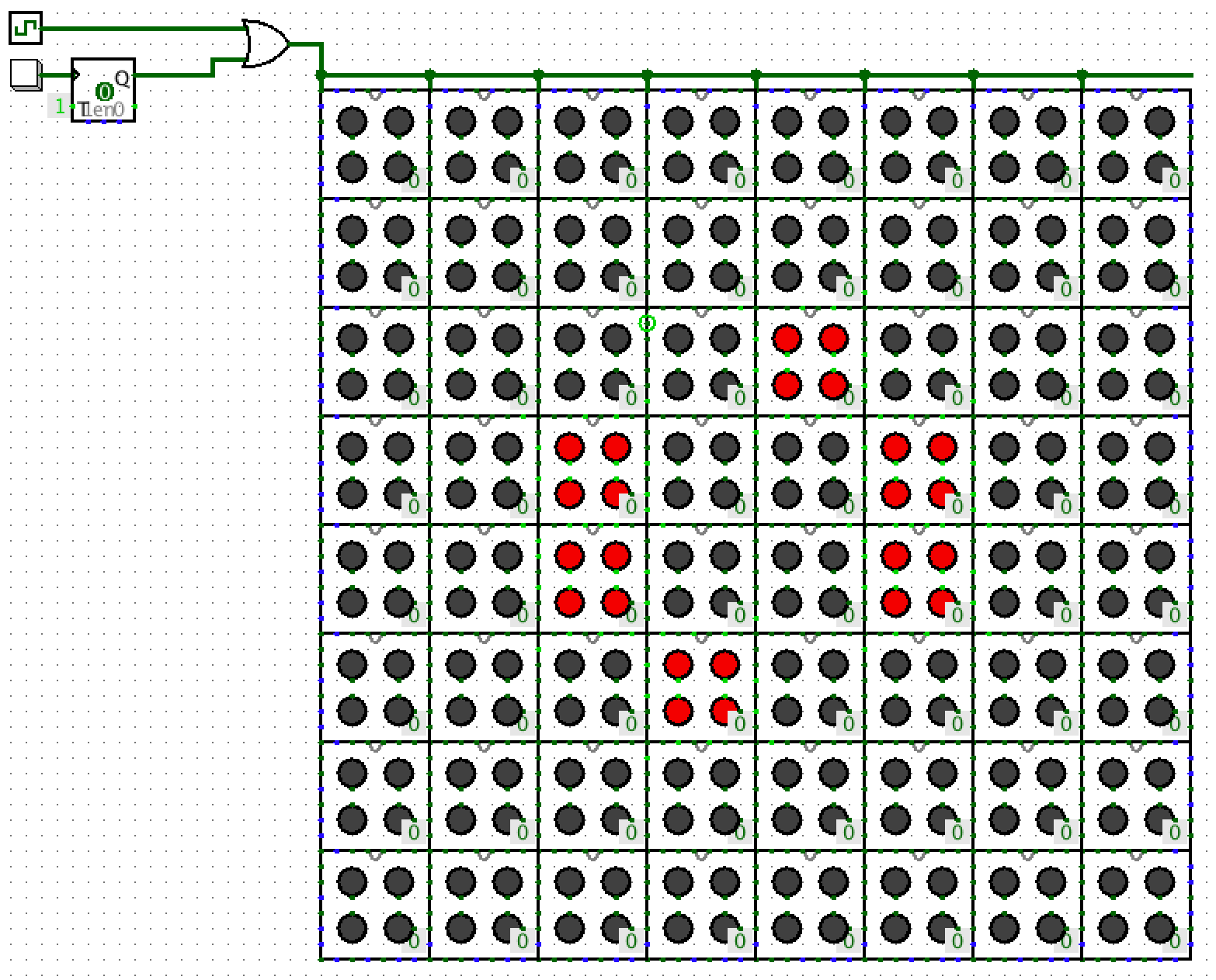 Modular Conways Game Of Life In Logisim Hexahedria Circuits